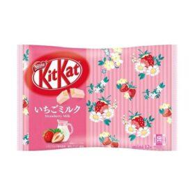 KitKat Mini Strawberry Milk Limited Edition (118,8g, Nestle)