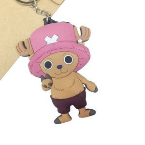 Keychain- One Piece – Chopper PVC